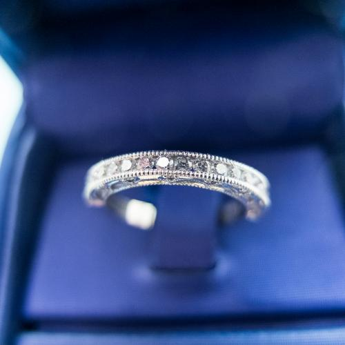 Tacori Diamond Wedding Band
