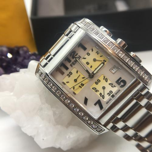 Fendi Diamond Watch