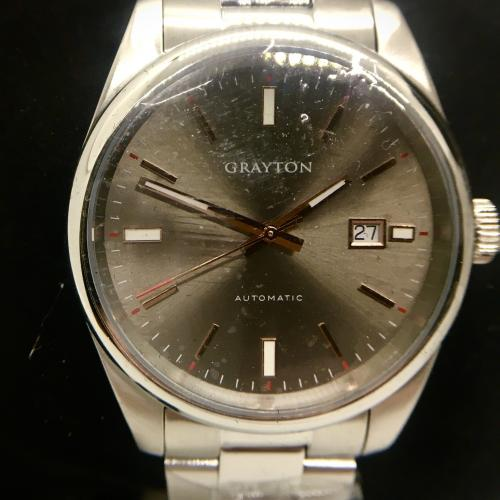 Grayton Automatic watch, open
