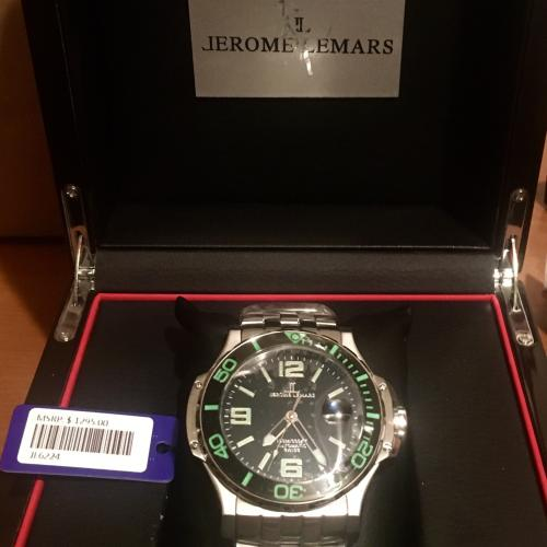 Jerome Lemars Watch