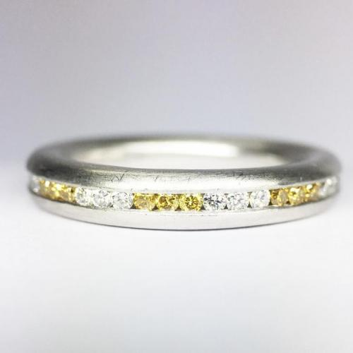 0.71ct Platinum Eternity Band