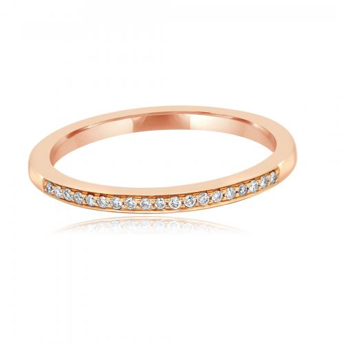 White Diamond Rose Gold