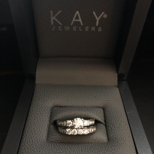 Kay Jewelers 14k white