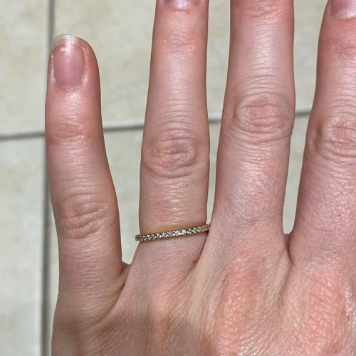Zales Yellow Gold Diamond