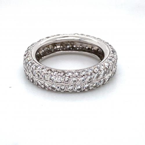 Full Diamond Eternity Stunner