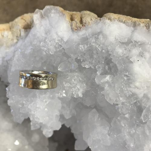 Unusual Channel Set Diamond