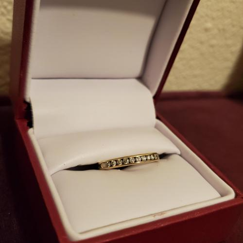 Helzberg Wedding Band with