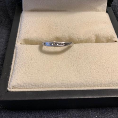 Zales Channel Diamond Wedding