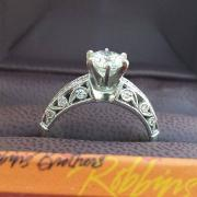 Robbins Bros. Platinum Engagement