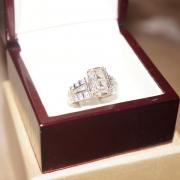 Striking 2 Carat Asscher