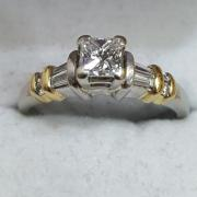 $3,200 Appraised Princess Cut,