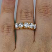 Classic Five-Stone Engagement Ring