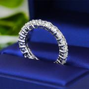 Diamond Eternity band with