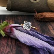 AMAZING ENGAGEMENT RING WITH