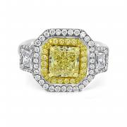 GIA Certified Fancy Yellow