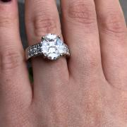 Engagement Ring with 2.70
