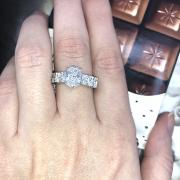 Fantastic Engagement ring GIA