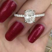 Engagement Ring with 1.75