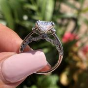 2.30 Cushion Diamond Ring