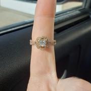 Helzberg Diamond Floral Halo