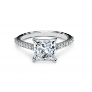 1.5 Carat Princess-cut Engagement