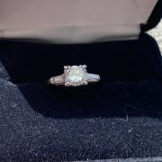 Diamond Engagement Ring .75ct