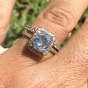 2.63 Halo Diamond Engagement
