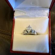 Custom Marquise engagement ring