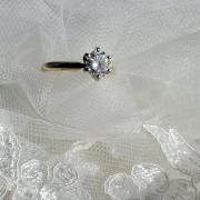 Gorgeous Solitaire Diamond Engagement