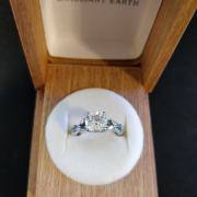 Brilliant Earth Moissanite Willow