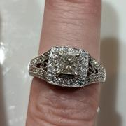 Vintage Style Diamond Ring