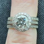 Diamond Engagement Ring with