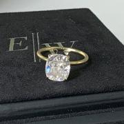 3.2 ct Elongated Cushion