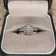 White Gold Custom Engagement