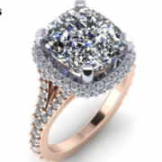 5.1 Carat Diamond on