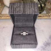 ZAYA Moissanite Cushion and