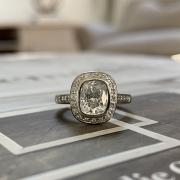 Amazing Cushion Cut Bezel