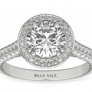 Blue Nile Heirloom Halo