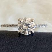 Round Brilliant Moissanite