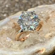 4.5ct Round Solitaire Engagement