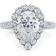 3.46 ct Pear Diamond