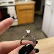 18K White Gold 1.42CT