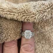 18k White Gold Bridal