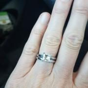 Zales princess cut diamond