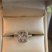 9x7 Drenched Cushion Cut