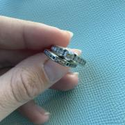 Wedding and engagement bands
