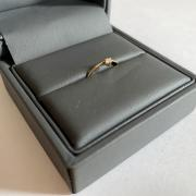 Recycled 14k gold engagement