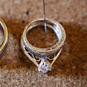 Marquise Solitaire Wedding Set
