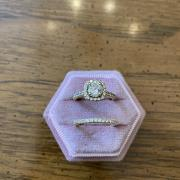 14k Engagement Ring and