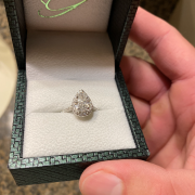 1.91 Ct Pear Shaped